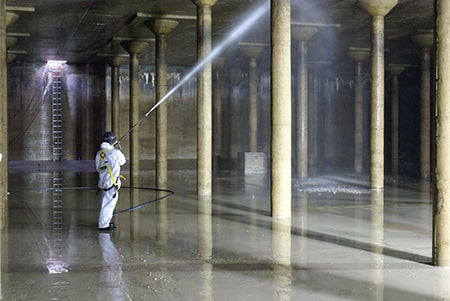 Reservoir Cleaning