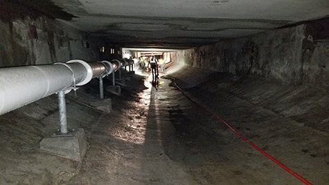 Reservoir Tunnel Cleaning