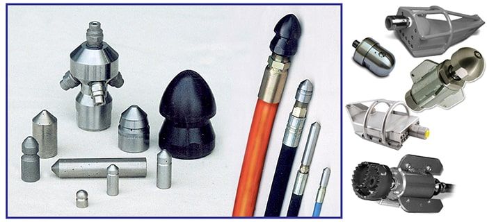 Sewer Main Cleaning Tools