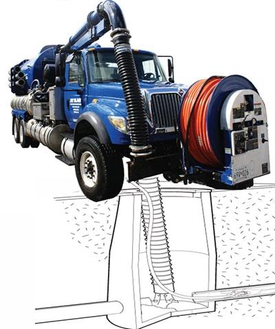 Vacuum Cleaning Truck