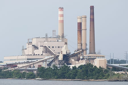 Oil-Fired Power Plant